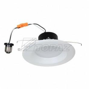 Topaz 79710 RTL/623WH/90/D-28 15 Watts White Finish Designer - Round Baffle Trim LED Recessed Downlights 2700K Warm White