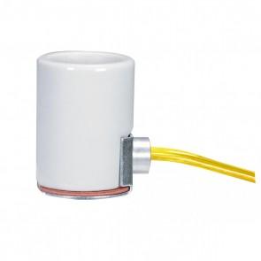 "Satco 80-1329 POR SIDE OUTLET SKT 36"" LEADS Wire Color Clear Gold"