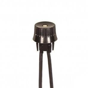 Satco 80-1770 BLACK ROTARY ON-OFF PHEN SW Black Finish Snap Bushing Single Circuit, 1A-125V, 3A-125V, 1.5A-250V Rating On-Off Phenolic Rotary Switch