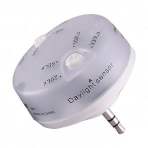 Satco 80-956 HI-PRO PHOTOCELL White Finish Daylight Sensor for use with Hi-Pro 360 Lamps