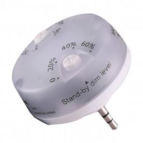 Satco 80-957 HI-PRO MOTION SENSOR/ MW White Finish Motion Sensor