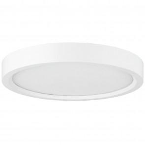 "Sunlite 81282 LFX/MP/5R/10W/E/D/SCT/WH 5"" Round LED Mini Flat Panel Fixture, Color Selectable 3000K/4000K/5000K Warm White/Cool White/SuperWhite,  White Finish"