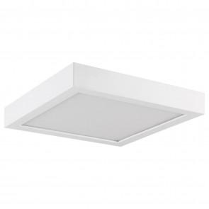 """Sunlite 81285 LFX/MP/7S/15W/E/D/SCT/WH 7"""" Sqaure LED Mini Flat Panel Fixture, Color Selectable 3000K/4000K/5000K Warm White/Cool White/SuperWhite,  White Finish"""