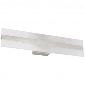 "Sunlite 81313 LFX/BAR/SQ/DG/18""/20W/30K 18"" Linear LED Bar Fixture, 3000K - Warm White, Brushed Nickel Finish"