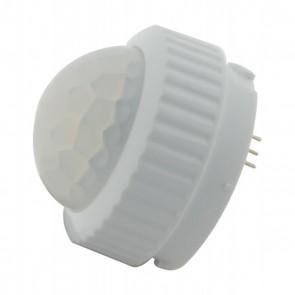 Satco 86-215 LED PIR SENSOR White Finish LED PIR Sensor for use with Utility/Multi Beam Fixtures