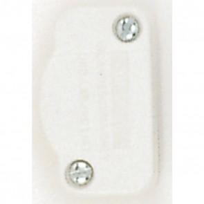 Satco 90-436 WHITE HI LO DIMMER SPT-1 , For 18/2 SPT-1, 120V, White Finish 200W Hi-Low Dimmer