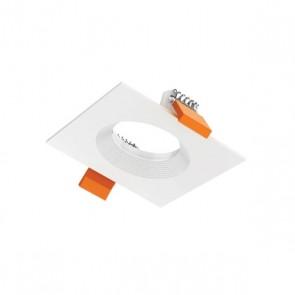 Luxrite AS50202 DLMD TRIM #WRS ,White Finish Recessed Square Trim LED Module & Driver,