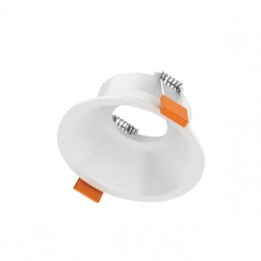 Luxrite AS50209 DLMD TRIM #WRDR ,White Finish Recessed Deep Round Trim LED Module & Driver,