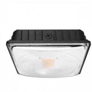 LightBlueUsa LB75456 70 Watts Aluminum & PC LED Outdoor Slim Canopy With Motion Sensor & Battery Backup Light Bright White 5000K