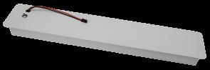 Luxrite AK40357 LED/SVL/48/DWMOUNT ,White Finish Drywall Mount LED Fixture,