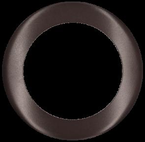 Goodlite 48381 T6/R/COVER/BRONZE Round Slim Shape ,Bronze Finish,6 Inch  Trim Replacement