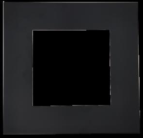 Goodlite 48394  T6/SQ/COVER/BLACK Square Slim Shape ,Black Finish,6 Inch  Trim Replacement