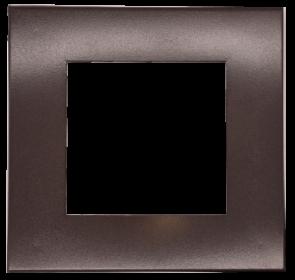 Goodlite 48390 T4/SQ/COVER/BRONZE Square Slim Shape ,Bronze Finish,4 Inch  Trim Replacement