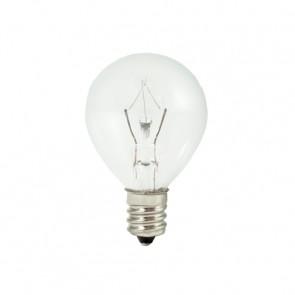 Bulbrite 461025 KR25G11CL 25 WattKrystal Touch Dimmable Krypton G11 Globe Bulb, Candelabra Base, Clear