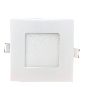 """LightBlueUsa LB11458 18  Watt 6"""" Square Slim Downlight - CCT Adjustable 2700K ,3000K, 3500K, 4000K, 5000K"""