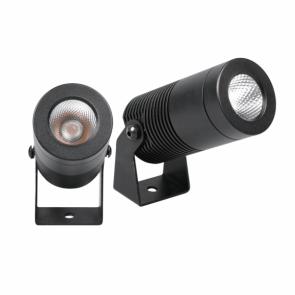 LightBlueUsa LB77105 8 Watt Black IP67 LED Garden Spike light Soft White,3000K