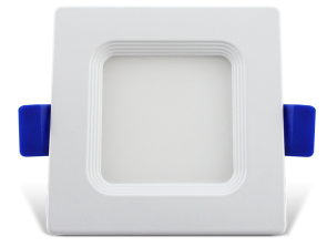 "Luxrite 23699 LED/MINI3/PANEL/50K/SQ 7W 3"" Mini Panel Square BRIGHT WHITE 5000K"