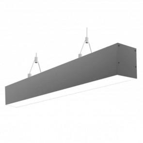 LightBlueUsa LB85220-3K-BK 40 Watts Black Finish- up/ down 4Ft. LED Linear Pendant Light Warm White 3000K