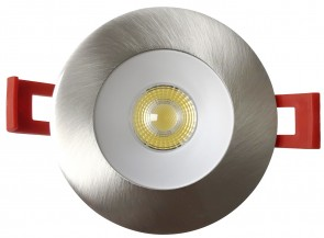Luxrite LR23435 LED/URDL2/TRM/RD/BN   Brushed Nickel Finish   Module Trim Replacement