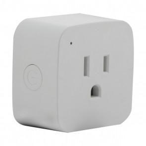 Satco S11269,10A/SMART-PLUG/SF/2PK (MINI SQ,125V Voltage,White Finish,- Light,Mini Square 2-Pack, Starfish WiFi Smart Plug