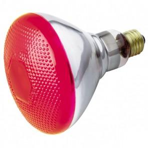 Satco S4424,100W BR-38 RED 120V.,100 Watts,120V Volts,BR38 E26 Medium Base,Red Finish,Reflector-Incandescent Light,
