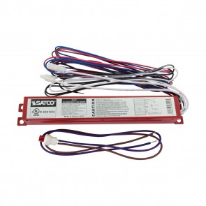 Satco S8002,10W EMERGENCY LED DRIVER,10 Watts,120V-277V Voltage,Red Finish,LED Emergency Driver