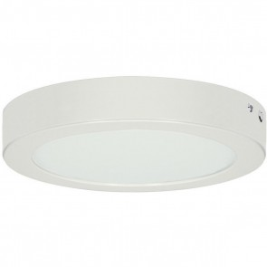"Satco S8672,BATTERY BACK UP 13"" ROUND WH,13 Length (in.),White Finish, 13 Inch Round Flush,Blink - Battery Backup Module"