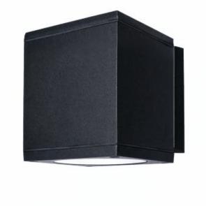 LightBlueUsa LB75950 15 Watts   Square LED Outdoor Wall Sconce  CCT Selectable 3000K, 4000K, 5000K