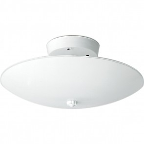 """Satco SF77-823 2 LIGHT 12"""" ROUND CEILING White Finish Steel Material Round Shape Traditional Style Medium Base Incandescent Flush Mount"""