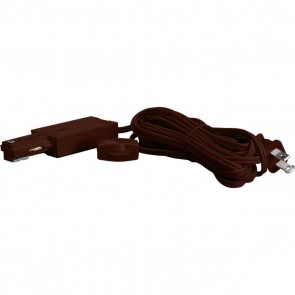 Satco TP201 LIVE END CORD KIT BROWN Brown Finish Live End Cord Kit