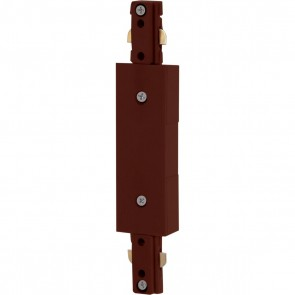 Satco TP211 INLINE FEED BROWN Brown Finish Inline Power Feed
