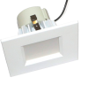 Goodlite 19788 R4/12W/SQ/LED/50k LED Retrofit 4-Inch Square Downlight, Dimmble, Medium E26 Base, 900 Lumens, 5000K Super White