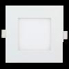 "Goodlite 20226 S4/12W/SQ/LED/3CCT 4"" Inch LED Square Slim Downlight 12-Watt, 850 Lumens, Color Salactable 3000K 4100K 5000K"