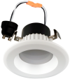 "Goodlite 19955 R3.5/9W/R/LED/30k LED 3"" Round Retrofit, Option of GU10 Base Adapter, Dimmble, 3000K Warm White"