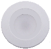 Goodlite 48333  R5-6/16W/R/LED/3CCT ,1250 Lumens, White Finish,Dimmable Round Shape ,5-6 Inch LED Wall Switch Retrofit,CCT Selectable