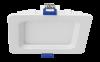"Luxrite 23704 LED/MINI4/PANEL/40K/SQ 10W Dimmable 4"" Mini Square Panel COOL WHITE 4000K"